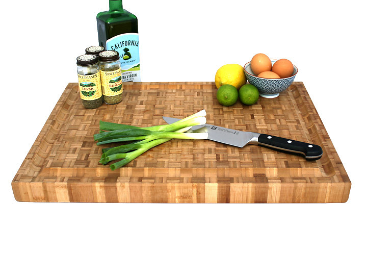 Bamboo Pro Carving Board 22 x 16 inch