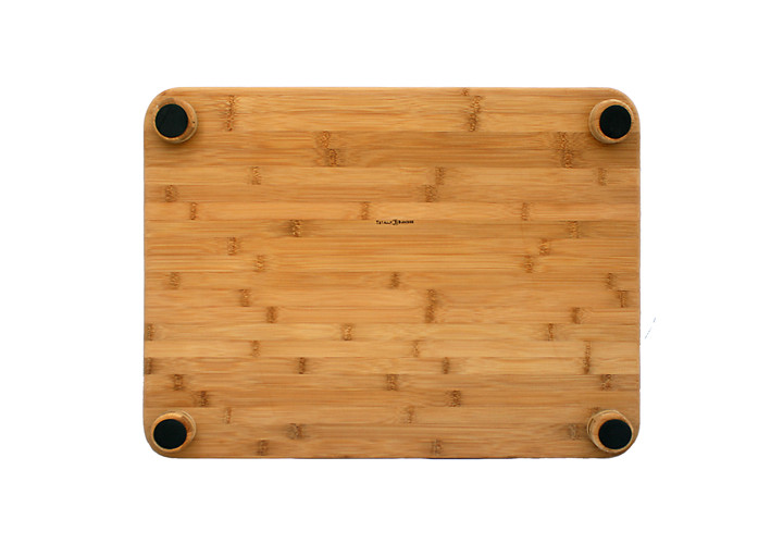 Bamboo board with feet