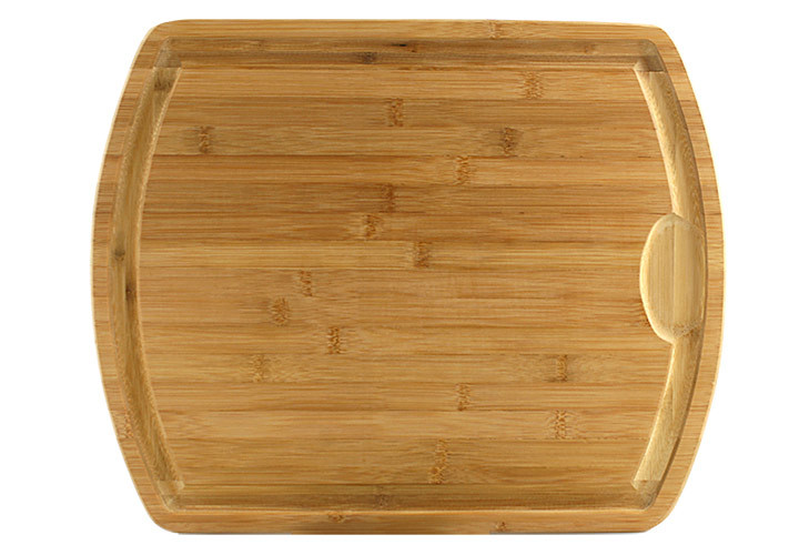 Farmhouse Bamboo Carving Board 19 5 X 15 5 X 1 Inch