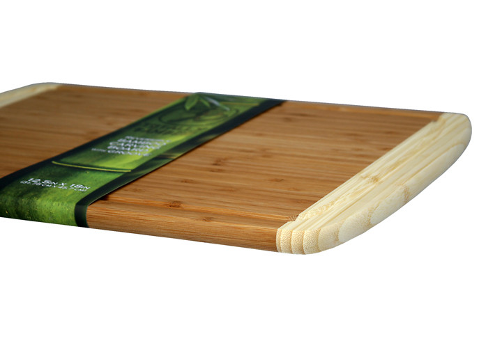 Bamboo board with packaging