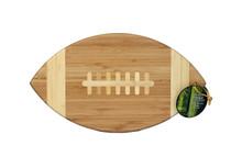 Football shaped cutting board