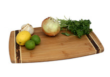 Marbled Bamboo Cutting Board