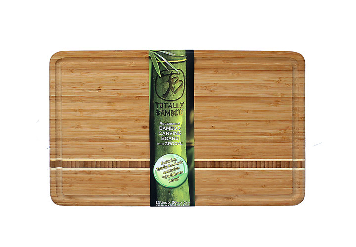 Dominica Bamboo Cutting Board with Juice Groove