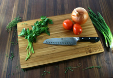 Custom Bamboo Pull Out Cutting Board