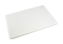 Commercial White Plastic HDPP Cutting Board 18 x 12