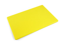 """Commercial Yellow Plastic HDPP Cutting Board 18"""" x 12"""""""