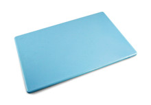 Blue Plastic HDPP Cutting Board 18 x 12