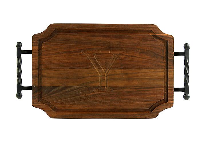Monogram Walnut Cutting Board