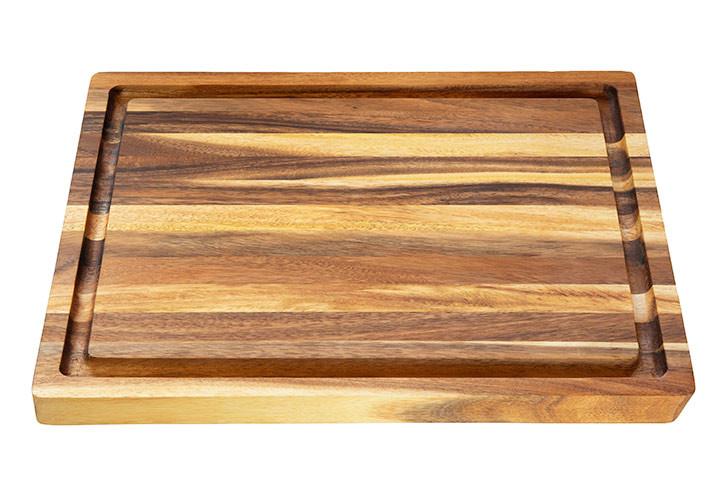 Acacia Cutting Board with Groove 20 x 15