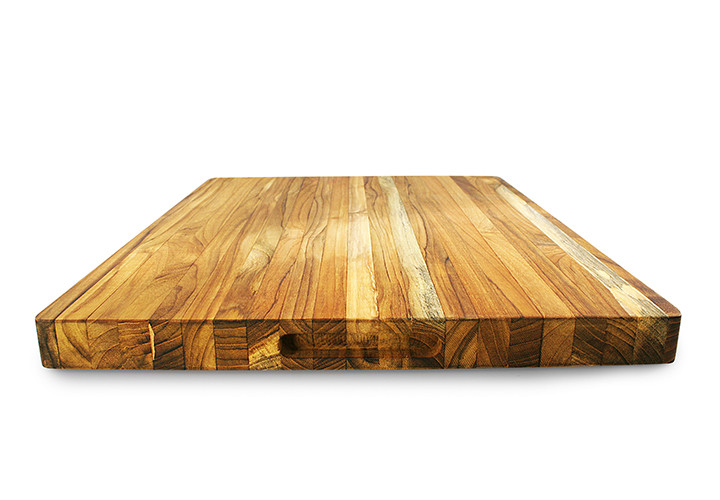 Teak Cutting Board Front