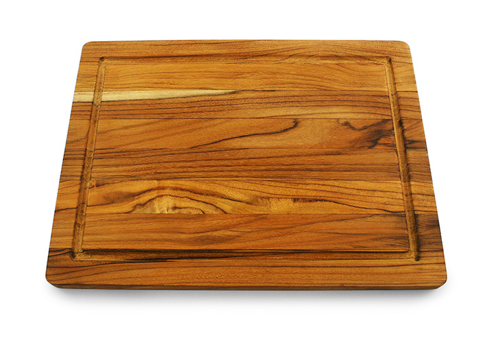 Terra Teak Cutting Board with Groove