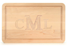 Personalized Maple Cutting Board 16 x 10
