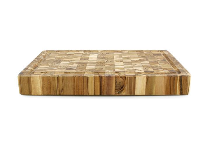Teak carving board