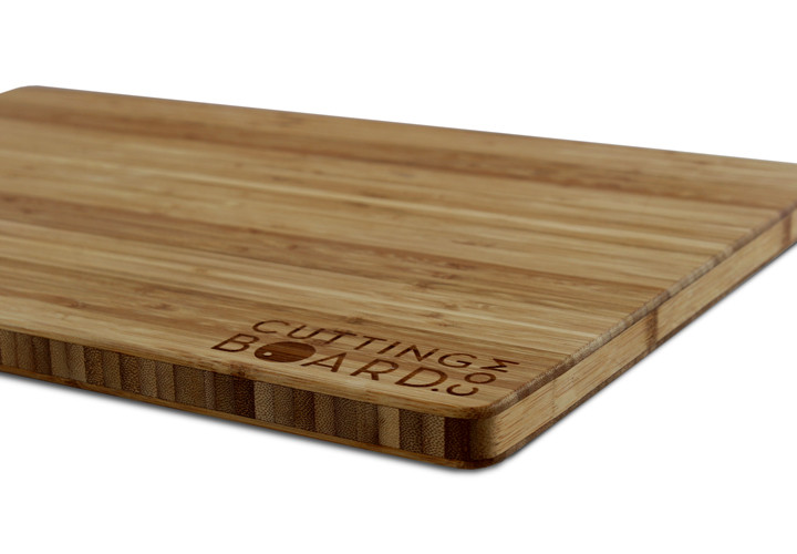 Custom bamboo cutting board