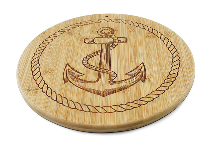 Anchor design cutting board