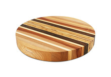 Artisan round chopping block