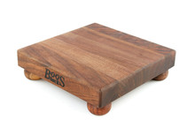 John Boos walnut chopping block with feet
