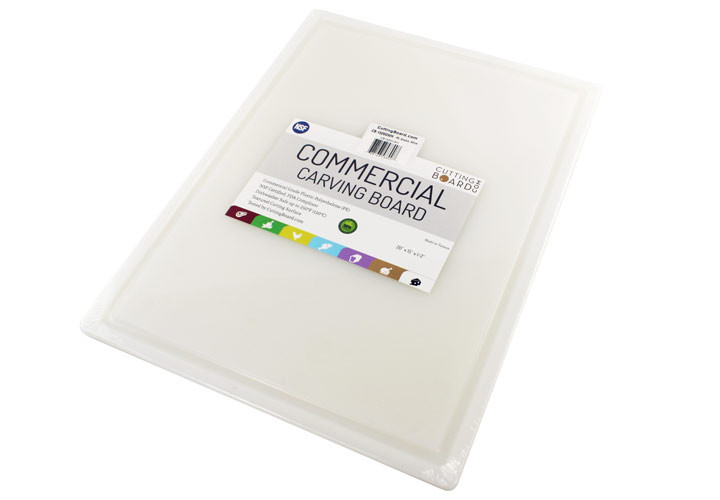 Commercial Plastic Carving Board 20 x 15 Inch