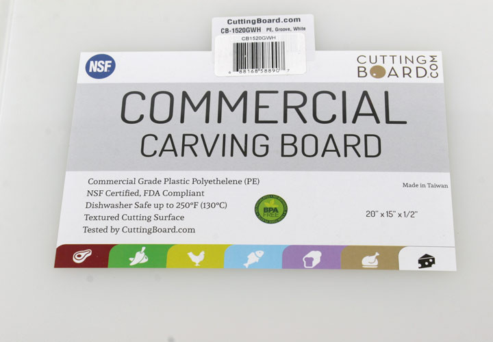 Commercial Carving Board Poly