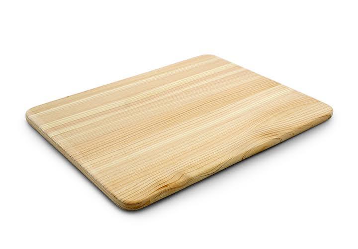 Small hinoki serving board