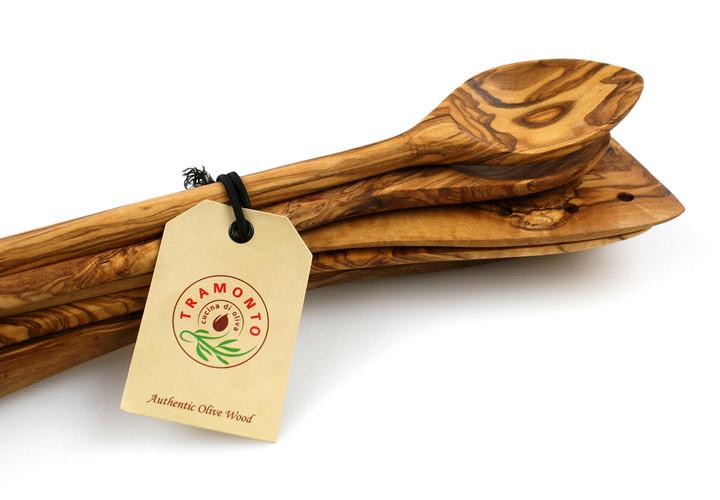 Tramanto Olive Wood Set
