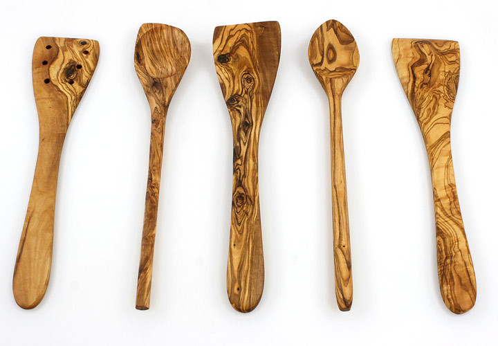 Olive Wood Utensil Cooking Set