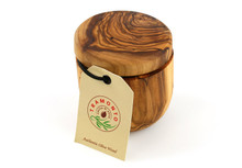 Tramanto Olive Wood Salt Pot