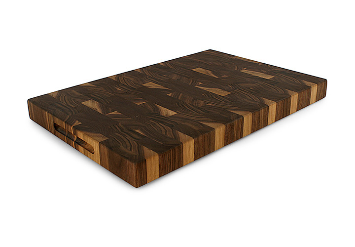 Walnut End Grain Butcher Block 24x 18 x 2.25