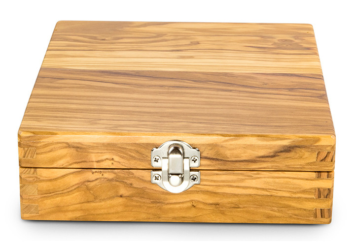 Olive wood box