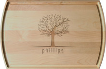 Personalized Spring Tree Family Engraving
