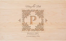 Personalized Florence Monogram Engraving