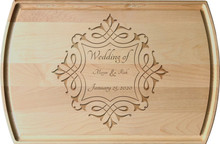 Personalized Deco Frame Wedding Engraving