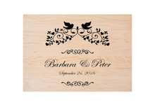Custom Cutting Board Wedding Engraving