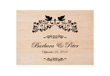 Custom Cutting Board Wedding Engraving