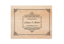 Wedding Personalized Cutting Board