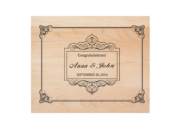 Wedding Personalized Cutting Board