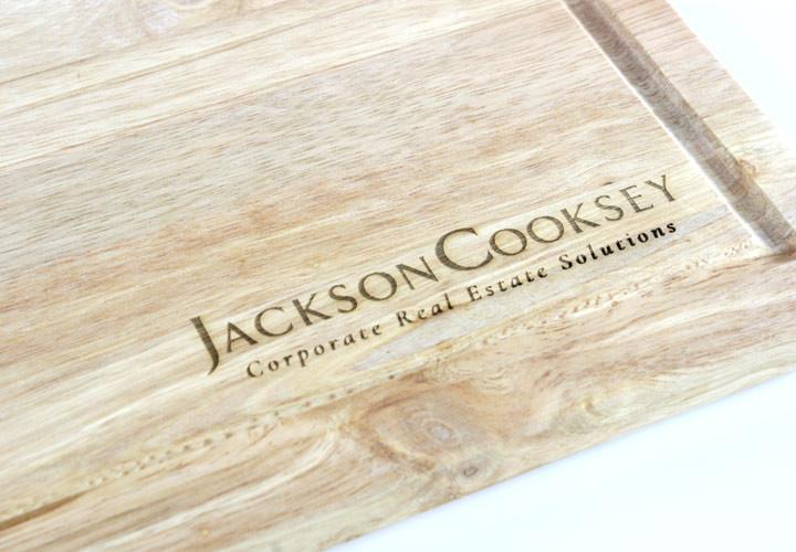 Bulk cutting board for engraving