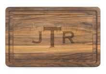 Large Walnut Engraved Cutting Board