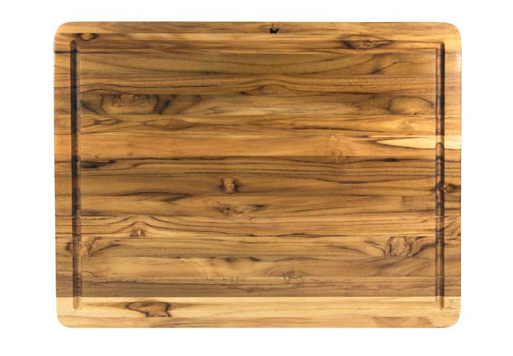 Terra Teak wood cutting board large