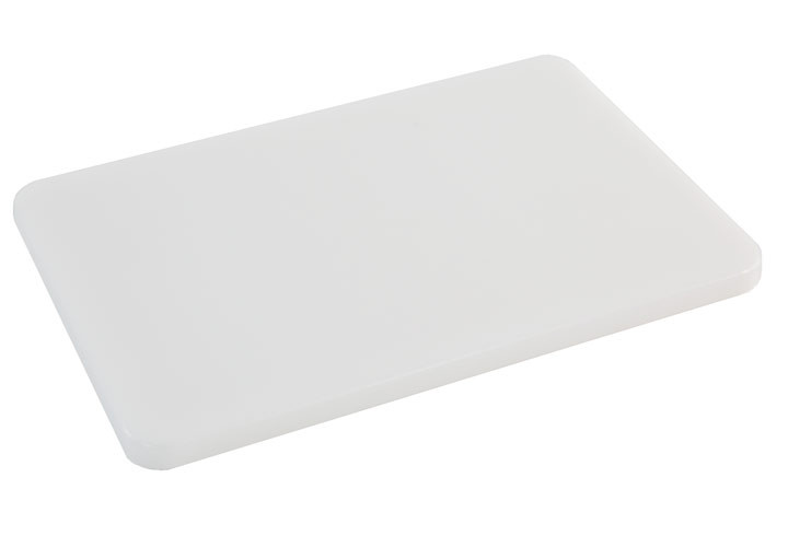 Side profile of plastic cutting surface