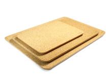 Bambu Cork Taper Cutting Board in three sizes