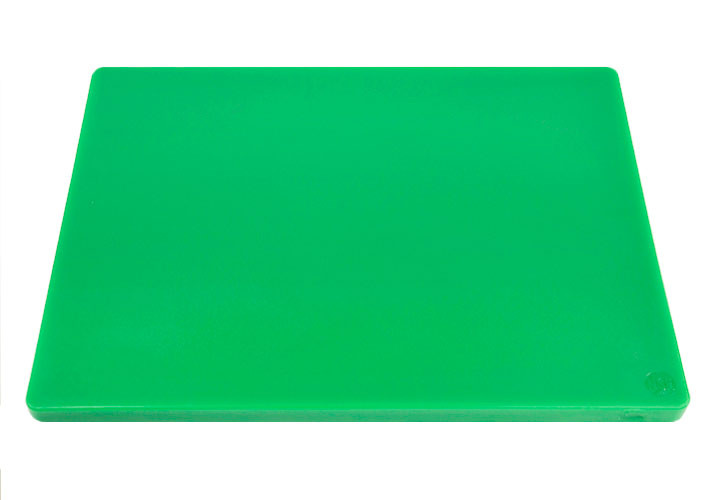 Green HACCP coded cutting board for produce