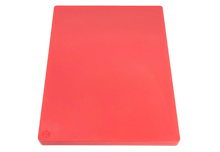 Commercial plastic cutting board, HDPP.