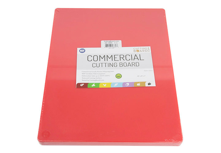 HDPP cutting board for commercial or home kitchens.