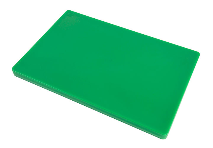 Commercial Green Plastic HDPP Cutting Board 18 x 12 x 1 inch