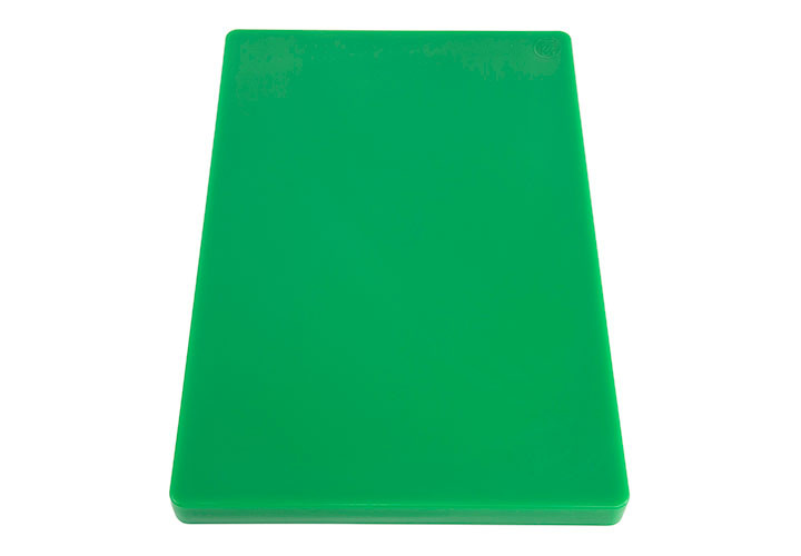 Commercial Green Plastic Cutting Board 18 x 12 x 1 inch