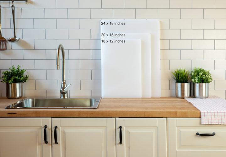 Attrayant Plastic Cutting Board Sizes