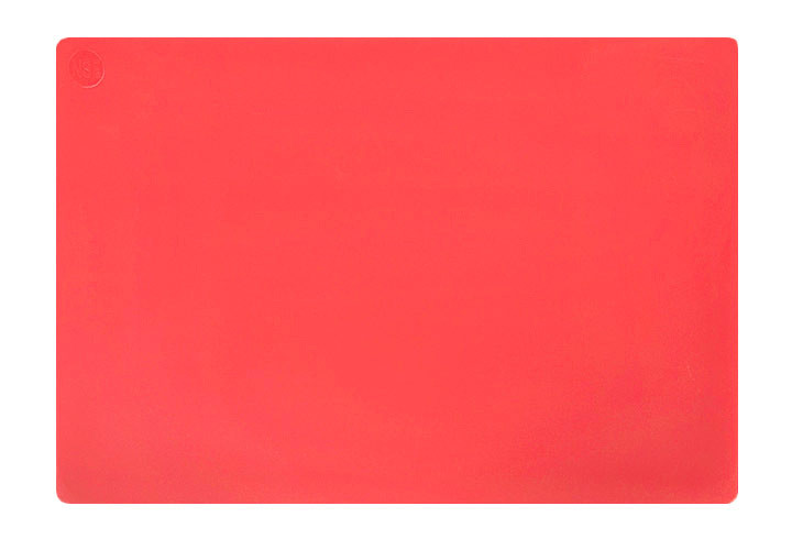 Restaurant grade red cutting board, NSF and FDA approved