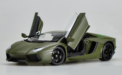 1/18 Welly FX Lamborghini Aventador LP700-4 (Dark Green) Diecast Car Model