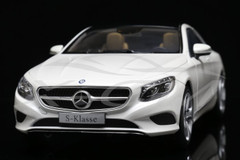 1/18 Dealer Edition Mercedes-Benz S-Class Coupe (White)